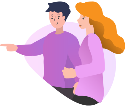 apuntando-pareja